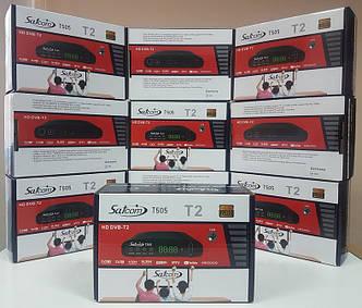 Цифровой эфирный DVB-T2 тюнер ресивер приставка декодер SatCom T505 IPTV YouTube MeGoGo DVB-C