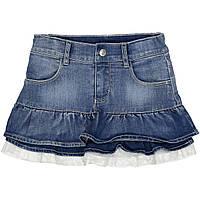 Джинсовая юбка для девочек 3-14 лет