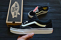 Кеды Женские Vans Old Skool Black&White Реплика ТОП качества