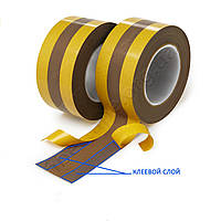 Тефлоновая лента зональная, ширина 80 мм, длина 30 м, (25+30+25), 150 микрон