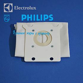 Мешок для пылесоса, микроволокно, FC8021/03 S-BAG Classic Long Performance к пылесосу Philips 883802103010.