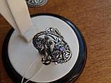 Новинка! Серебряное винтажное кольцо Кипарис, фото 3