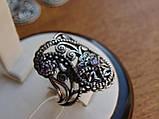 Новинка! Серебряное винтажное кольцо Кипарис, фото 4