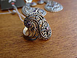 Новинка! Серебряное винтажное кольцо Кипарис, фото 2