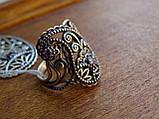 Новинка! Серебряное винтажное кольцо Кипарис, фото 7