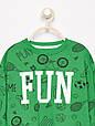 Детская зеленая кофта для мальчика 2 года от Reserved Германия Размер 92, фото 3
