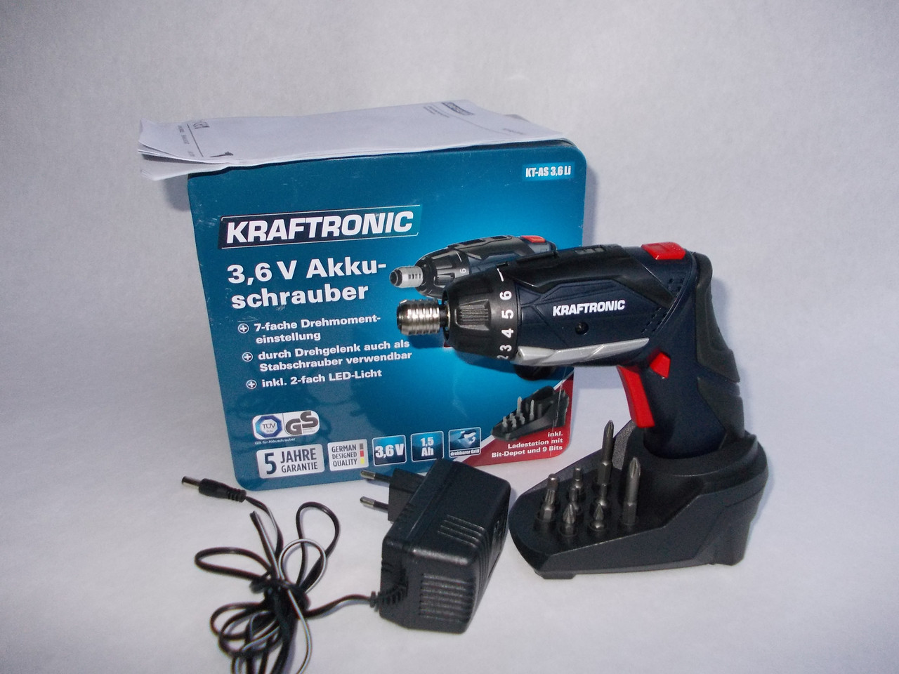 Отвертка аккумуляторная kraftronic kt as 3.6 li : продажа, цена в