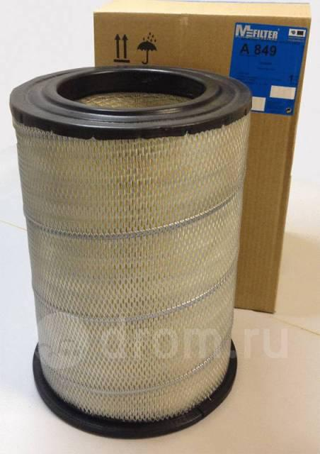 Фильтр воздушный SCANIA (Аналоги: Hengst E1006L) (пр-во M-filter) A849
