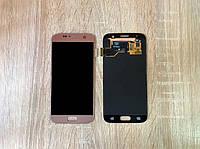 Дисплей Samsung S7 G930 Розовый Pink GH97-18523E оригинал!