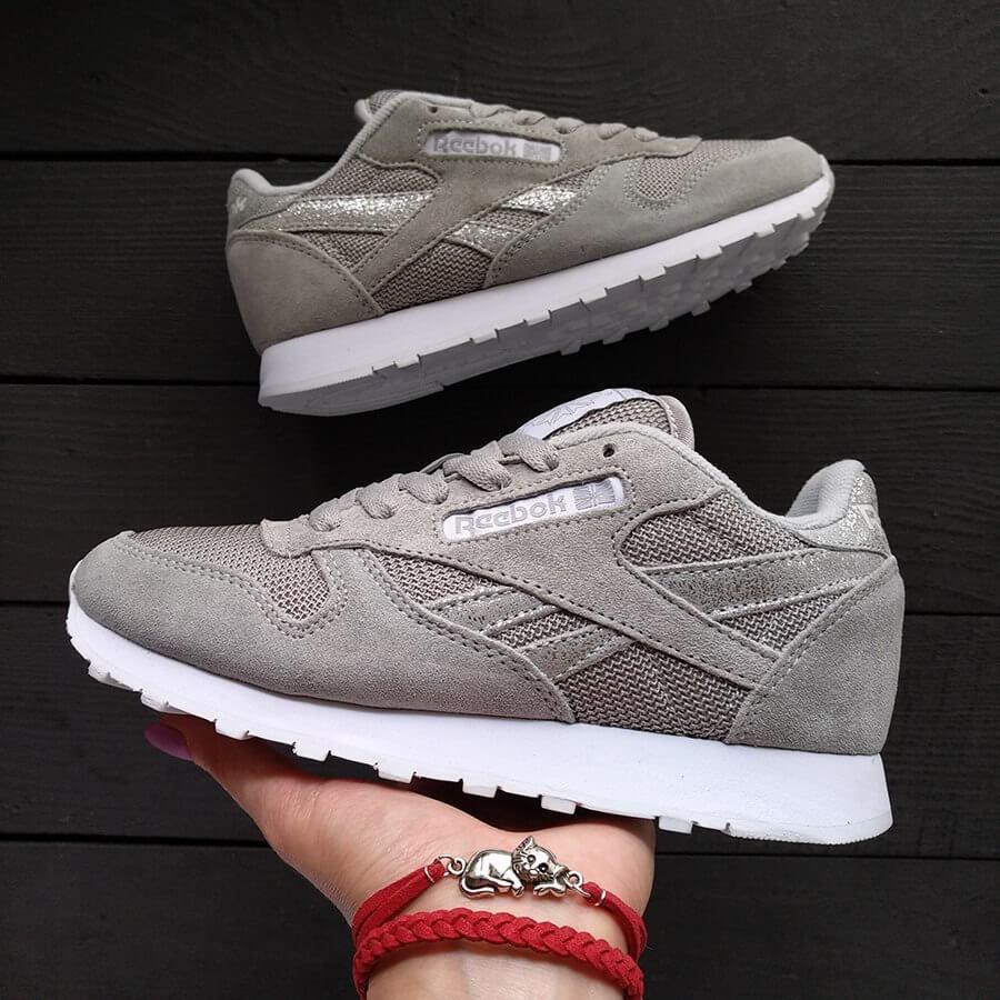 Женские кроссовки Reebok Classic Grey
