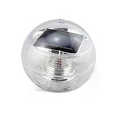 Куля плаваючий зі світлодіодним підсвічуванням на сонячній батареї AS-SPD-W – білий світ