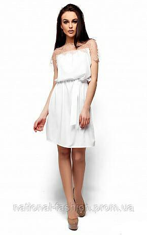 209f4ccc43e Летнее женское платье с кружевом