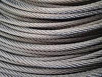 Трос (канат) нержавіючий плетіння 7х7