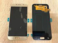 Дисплей на Samsung A520 Galaxy A5(2017) Золото(Gold),GH97-19733B, Super AMOLED!