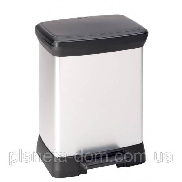 Ведро для мусора Curver Deco Bin педалью 30 литров