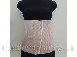 Бандаж компрессионный после операции (абдоминальный) размер 1 обьем талии 71-80 см.