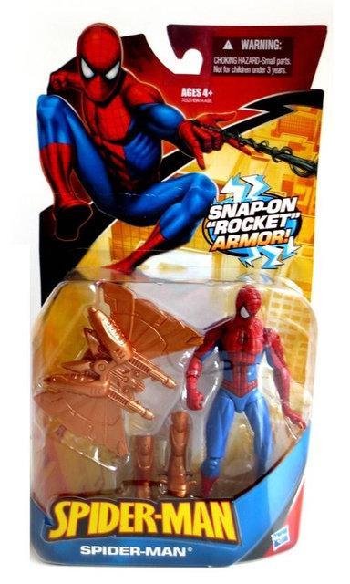 Спайдермен Фигурка с летающим костюмом 12СМ - Spider-man/Rocket Armor/Hasbro