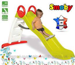 Детская горка с водным еффектом Smoby Funny