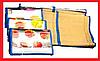Пляжный коврик фольга с соломкой 90х170, коврик для пляжа