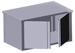 Шкаф навесной ( 900*350*600)  с распашными дверями