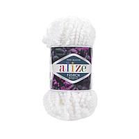 Пряжа Alize Fashion Boucle белый
