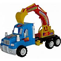 Экскаватор  Хеви Дьюти детская игрушка спецтехника. Детские машинка спецтехника.