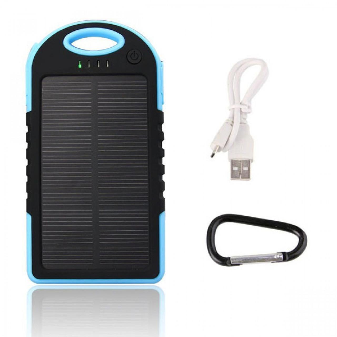 """Зарядное устройство на солнечной батареи """"Solar Charge 5000 mAh"""""""