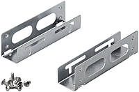 Панель корпусна Монтажна рама (HDD) Goobay 3.5-5.25 салазки HDDпанель Серебряный(75.09.3034)