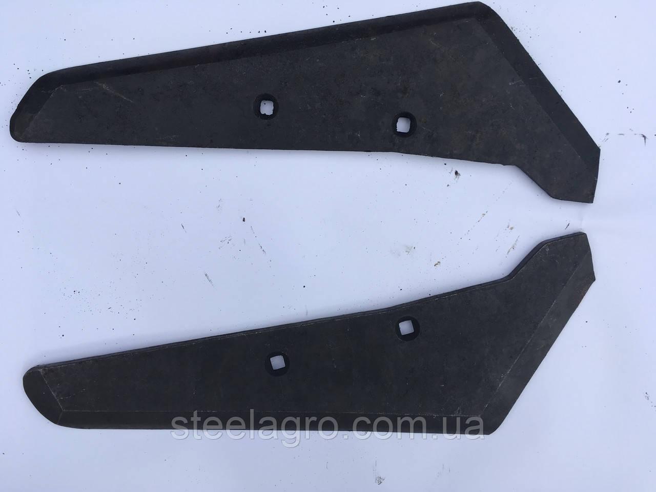 Леміш копальника Holmer (лівий, правий) ст65Г s=10мм