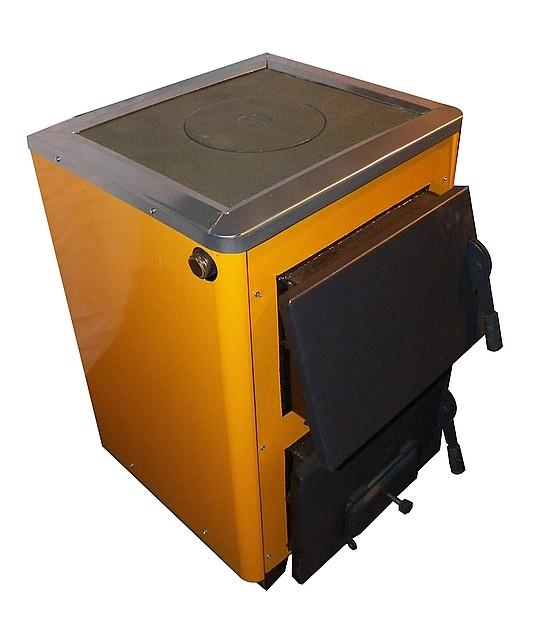 КОТВ-14П твердопаливний котел з плитою