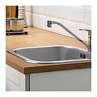 Кухонный гарнитур IKEA KNOXHULT 220x61x220 см серый светло-коричневый 791.804.37, фото 7