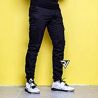 Распродажа Мужские штаны Карго Rivosh black 7dd3828caed04
