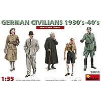 НЕМЕЦКИЕ ГРАЖДАНЕ, 1930-40 Г. 1/35 MINIART 38015