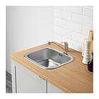 Кухонный гарнитур IKEA KNOXHULT 180x61x220 см серый светло-коричневый 791.804.42, фото 6