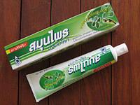 Органическая  травяная зубная паста сэкстрактом моринги, гвоздики и мяты,Pathom ASOKE 100г