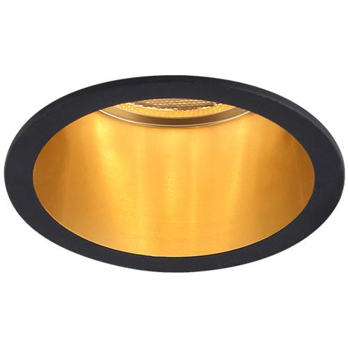 Вбудований світильник точковий Feron DL6003 MR16 G5.3 Чорний+золото