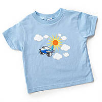 Детская футболка Pudgy Plane Toddler T-shirt 3370370100050001 (Blue)