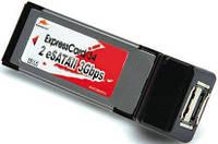 Контролер накопичувача ExpressCard/34-SATA 7px2 Roline Ext Box(15.06.2138)