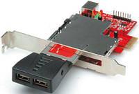 Перехідник обладнання PCIe-ExpressCard/34 Roline /54mm(15.06.2190)