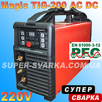 Аргоновая сварка Magic TIG-200 AC DC PFC PULSE, фото 1