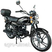 Мотоцикл Spark SP110 С-2 Задний багажник, защита ног, задняя подножка для пассажира