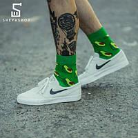 Носки Сlew Авокадо, зеленые