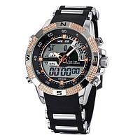 Спортивные мужские часы WEIDE AQUA 1104 GOLD