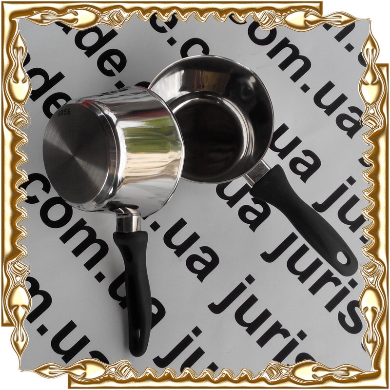 Ковш 14 см нержавейка А+ 0256 (1 литр)