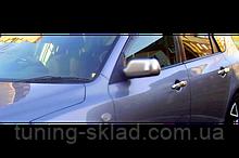 Хром накладки на ручки Mazda 2 (Мазда 2)