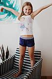 Детская пижама для девочки (майка и шорты) Anabel Arto, фото 2