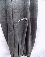 Штаны мужские спортивные трикотаж весна-осень на манжете серые оптом, фото 1