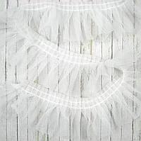 Фатин белый 5см, отрез 1 ярд