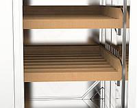 Шкаф для хлеба  2 секц, двери распашные  ( 1100*500*1800)