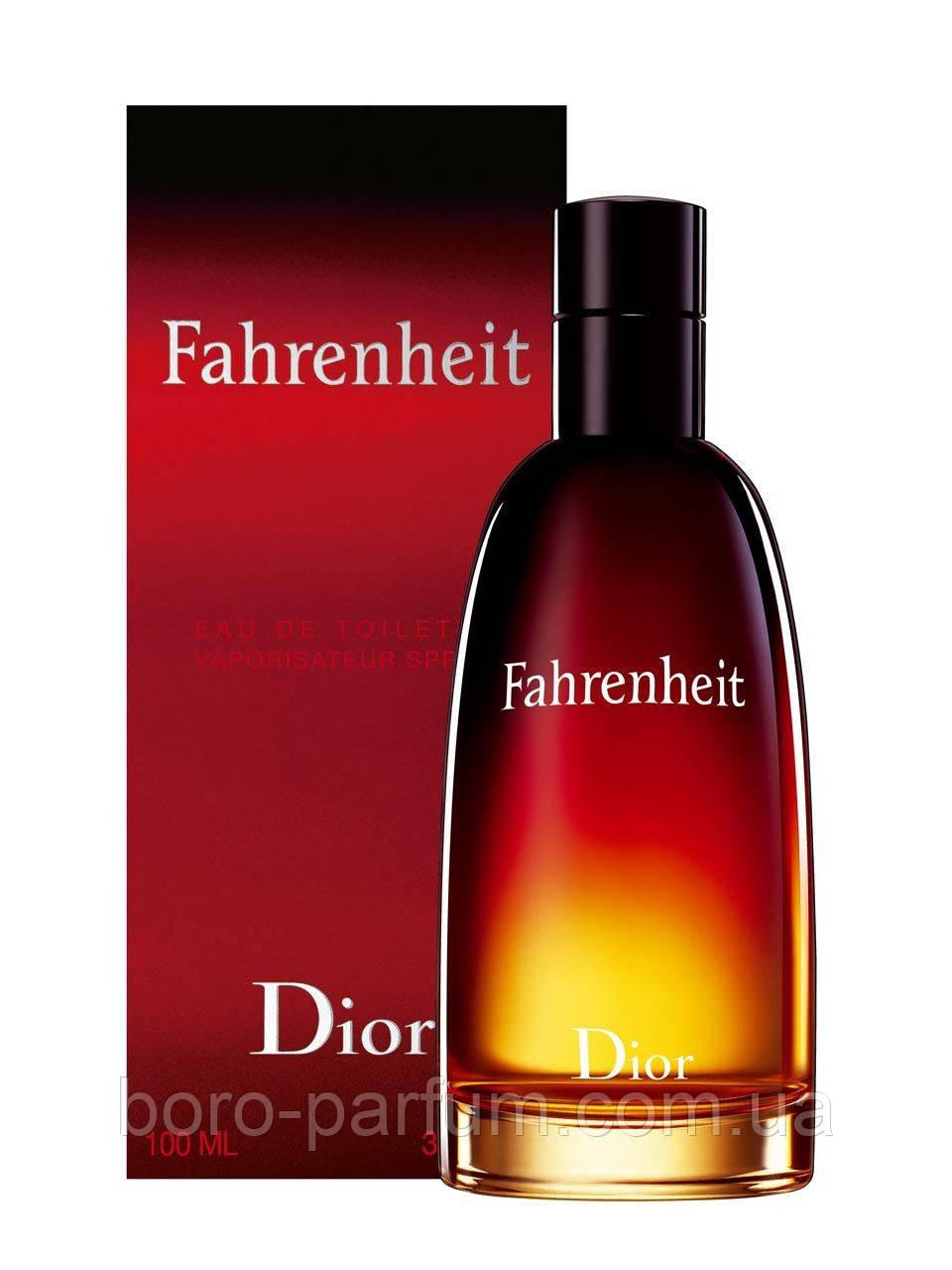 Туалетная вода для мужчин Christian Dior Fahrenheit 100 ml